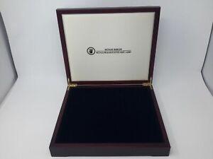 Luxus HOLZ Münzkassette für 12 Münzen bis 32 mm, gebraucht (Z2494)