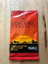 Sealed Packet of Skybox Disney The Lion King Series II Trading Cards 1996 6 card