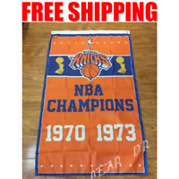 New York Knicks Champions Flag NBA Basketball Banner 3X5 ft 2 Gromments