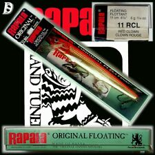 Vintage Rapala Original Floating 11cm RCL Silver Plated NiB Irland extrem selten