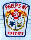 Fire Patch - Phelps, NY Station 21