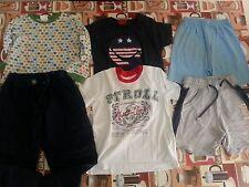 lotto 437 stock 6 pezzi abbigliamento bimbo bambinao neonato 12-30 mesi 1/3 anni