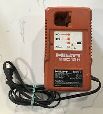 HILTI SBC 12 H Genuine BATTERY CHARGER Cordless Charge GoodCondition Made Taiwan