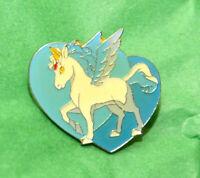 Pegasus white horse Sailor Moon pin vintage Bandai Japan brooch TKTAT unicorn