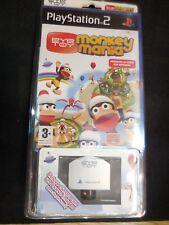 Monkey Mania eye toy para playstation2 Nuevo y Precintado con camara.