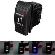 12 V 7-Pin 20 A VERRICELLO IN/OUT ON-OFF-ON interruttore a bilanciere ARB AUTO BARCA 4 Colori LED