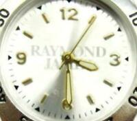 A*Bella Raymond Jones Dual Tone 3 ATM WR St. Steel Watch Analog Quartz New Batt.