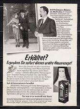 3w637/ Alte Reklame - von 1983 - KLOSTERFRAU Melissengeist