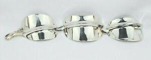 Sterling Silver Bracelet Designer RGN 7in A65