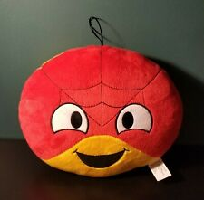 "Kellytoy Spiderman Emoji Pillow Plush Stuffed Marvel Comics 9"" Avengers"