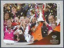PANINI UEFA CHAMPIONS LEAGUE 2012-13- #588-OLYMPIQUE LYONNAIS-2012 WOMENS FINAL