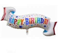 Party : Happy Birthday Foil Balloon 3 ft Party Decor Set 1 pc