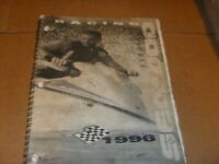 OEM 1996 Bombardier SeaDoo PWC Racing Handbook 219000048