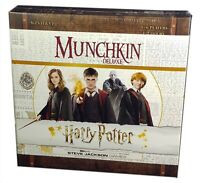 Usaopoly, Munchkin Harry Potter Deluxe Edition, New And Sealed