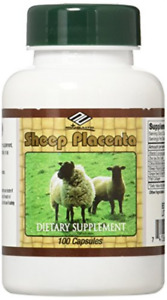 Sheep Placenta Complex 100 Capsules,FRESH , New Item 100 Count (Pack of 1)