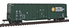 Atlas # 20002675 NSC 5277 Plug-Door Boxcar  BRITISH COLUMBIA RAILWAY BCOL HO MIB