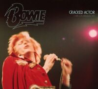 DAVID BOWIE (2 CD) CRACKED ACTOR : LIVE LOS ANGELES 74 *NEW*