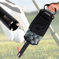 Golf clikka tube. Holds 60 balls.Ball collector shag bag retriever practice UK