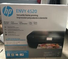 NEW HP Envy 4520 Black/Color Wireless AirPrint All-in-One Photo Printer