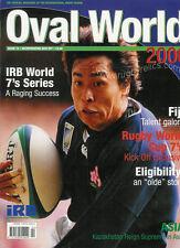 Mondo OVALE N. 15 2000 Rugby RIVISTA legale 1999 Cina Malesia Messico COSTA D'AVORIO