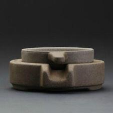 Chinese YiXing Zisha Clay Grinding Stone Mesh Strainer & Stand For Gongfu Tea