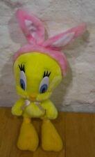 Wb Looney Tunes Tweety Bird W/ Bunny Ears Plush Toy