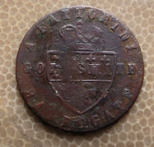 GEORGE III TRADE TOKEN - A. FATTORINI GOLD SMITH HARROWGATE - NICE
