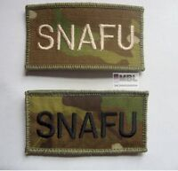 TRF MULTICAM for MTP KIT SNAFU MORALE BADGE / PATCH VELCRO BACK UBACS MILITARY