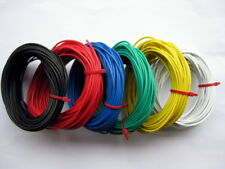 6 ROLLS 2.0 AMP STRANDED EQUIPMENT WIRE 60 Meters DX036