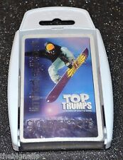Top Trumps Limited Editions Snowboarders new sealed