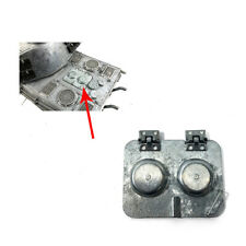Mato Metal Engine Access Hatch For 1/16 Rc Germany King Tiger Tank