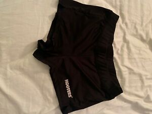 New hooters' black uniform shorts size small