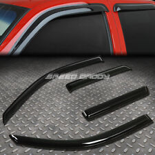 FOR 02-09 ENVOY/ASCENDER SMOKE TINT WINDOW VISOR/WIND DEFLECTOR VENT RAIN GUARD