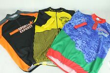 "3 x 44"" Chest Cycling Jerseys Vintage Short Sleeve Shirts Pre-owned (565)"