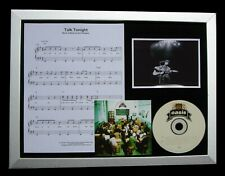 OASIS Talk Tonight LTD GALLERY QUALITY CD FRAMED DISPLAY+EXPRESS GLOBAL SHIPPING