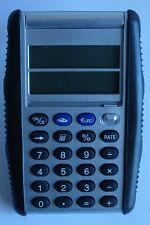 Calculadora de bolsillo convertidor de euro -visualización doble