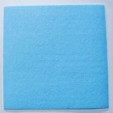 Feutrine BLEU plaque 29x29cm épaisse 3mm Feutre tissu DIY loisirs créatifs