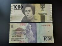BILLETE DE  INDONESIA   1000 RUPIAS , 2016 . . P-NEW   UNC