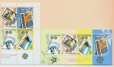 MACEDONIA Sc 352-53 NH BLOCK OF 4+S/S OF 2005 - EUROPA CEPT