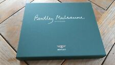 Brochure ViP BENTLEY MULSANNE 2011 : coffret + catalogue x 2 FR