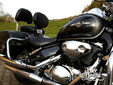 Respaldos color principal negro para motos Suzuki