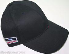 ford diesel powerstroke built tough power stroke hat black plain blank logo new