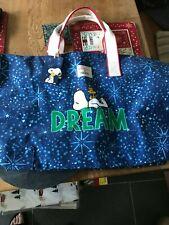 Cath Kidston Snoopy Dream holdall Bag bnwt
