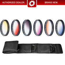 Camera Filters - 67mm - Graduated Color Multicoated 6pcs Filter Set with pouch