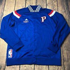 Adidas NBA Detroit Pistons Tony Mitchell Game Worn Jacket 3XL +2 Varsity