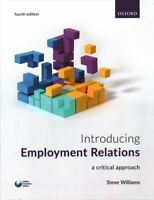 Introducing Employment Relations by Steve Williams 9780198777120   Brand New
