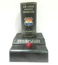 AMERICAN FLYER TRAINS S SCALE ( AIR CHIME WHISTLE CONTROLLER & GENERATOR )