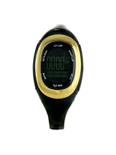 Nike Imara Run Watch Multi Function Women's Digital Sports WR0075-005 Black gold