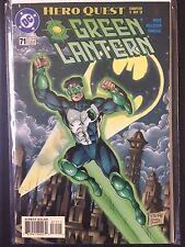 "Green Lantern (DC 1996)  #71  ""Hero Quest Part 1 "" Batman Robin Sentinel   VF/NM"