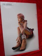 Final Fantasy Xlll Oerba Dia Vanille / A4 Size File Folder UK Despatch RARE
